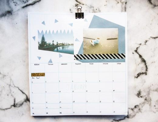 DIY-Personalised-2018-Calendar-8